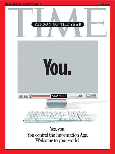 TIME Magazine. YOU